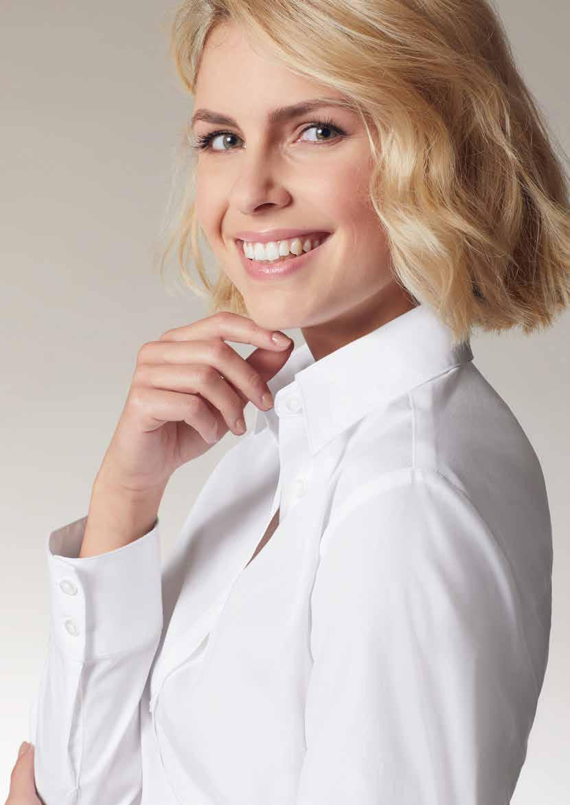 Poplin - the classic look for JN 626 LADIES BLOUSE Business blouse