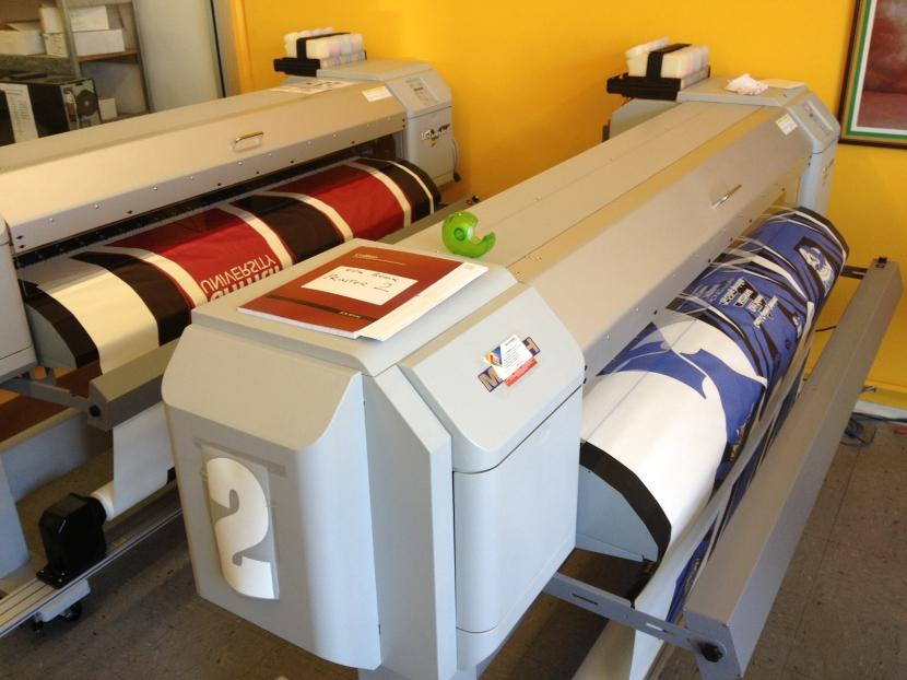 Printed material is 1500mm wide and printed on a continuous roll to the length you require. If required our graphic artists are on hand to assist in developing your design.