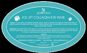Open foil pack, remove the two sections of the gel eye mask and lay evenly under the eyes. Leave on for 15-20 min. Remove mask and discard, massage in the remaining essence from the pack.