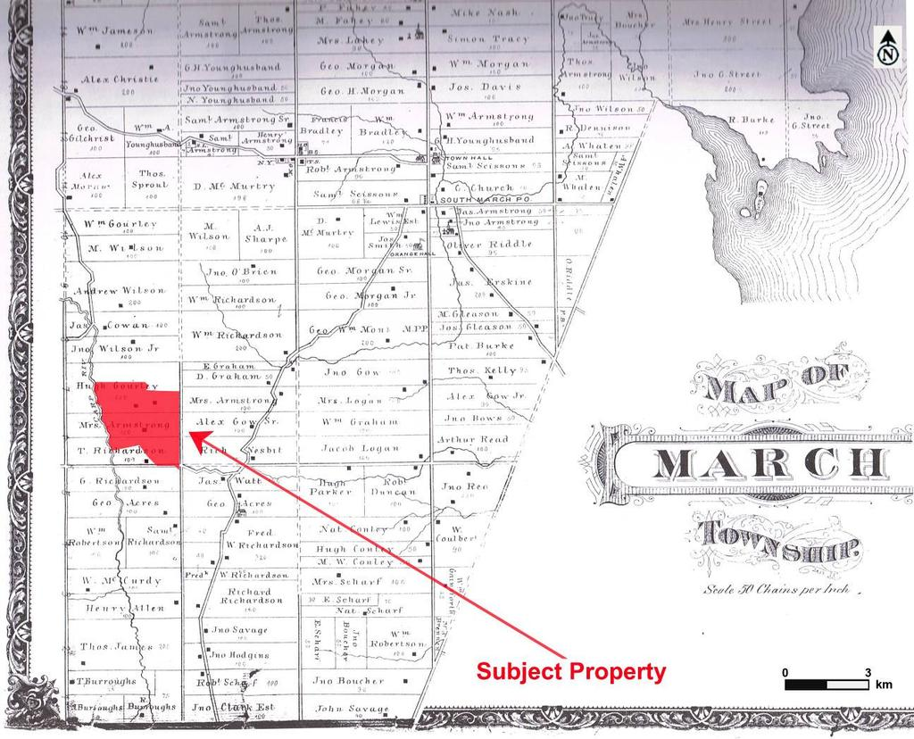 Figure 4: 1879 Belden and Company Historic Atlas Map