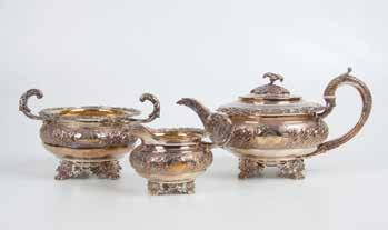 917 918 931 937 928 Pair Geo V S/S Gravy Boats plain form with waved rims on shell top legs with hoof feet, Birmingham 1929, maker John Collard Vickery 929 Fine Vict S/S Gilt Sweetmeat Basket of