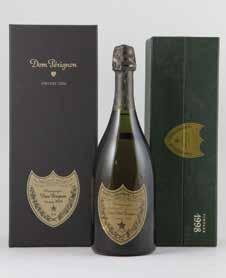 Perignon Vintage 2004 (sealed presentation box) $200-250 W78 1 bottle Dom Perignon Vintage 2006 Special Bjork & Chris Cunningham Limited Edition bottling (sealed presentation box) $230-280 W79 1
