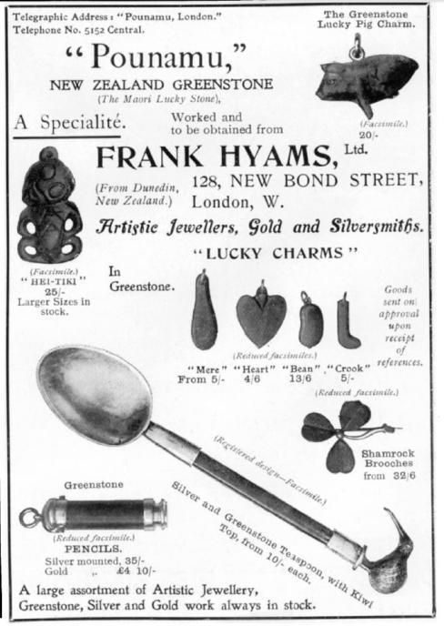 Hyams trained as a young goldsmith in Regent Street in London.