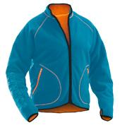 Pile jacket Reverible with pile on one side and fleece on the other side Thumb grip in cuff 5192 Pile jacket Reversible