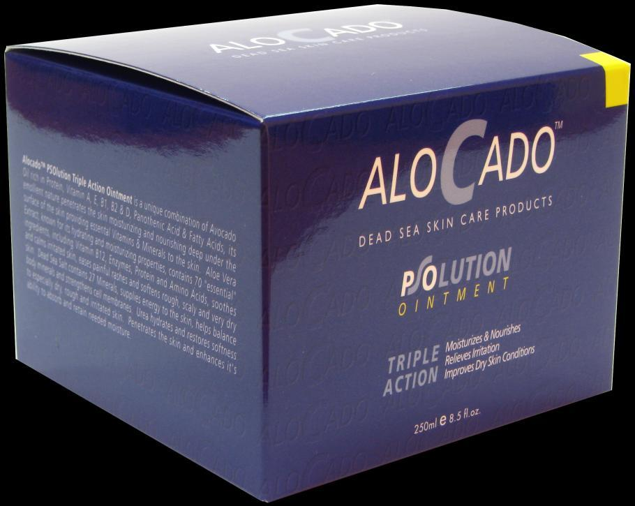 Alocado PSOlution Triple Action Ointment For Very Dry Irritated Skin 1. Moisturizes & Nourishes 2. Relieves Irritation 3.