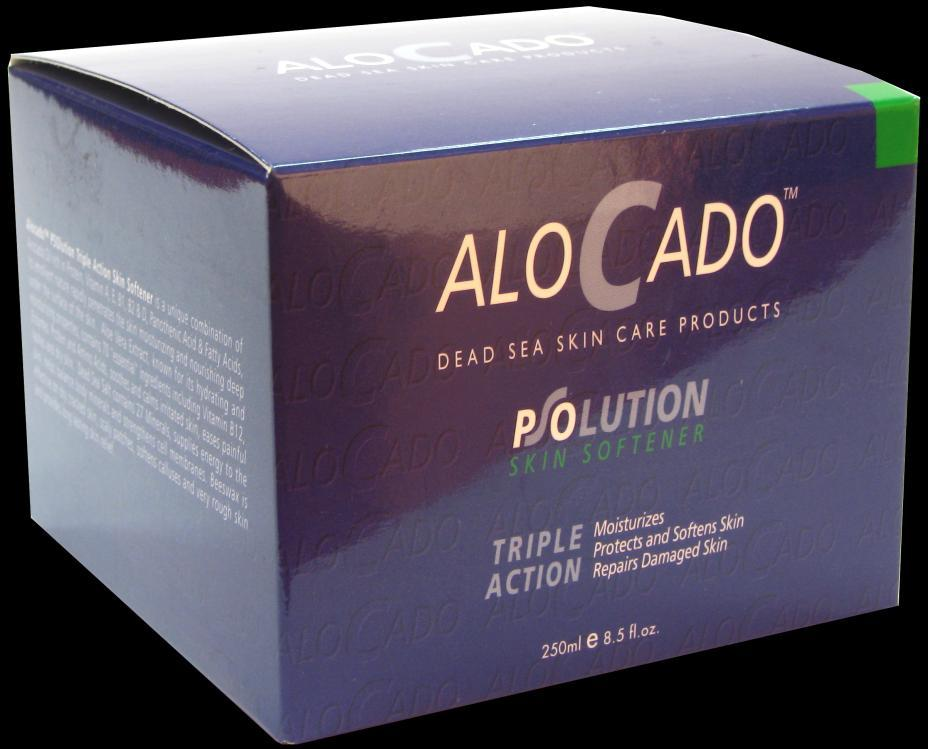 Alocado PSOlution Triple Action Skin Softener For Extremely Dry, Rough Skin 1. Moisturizes 2. Protects and Softens Skin 3.
