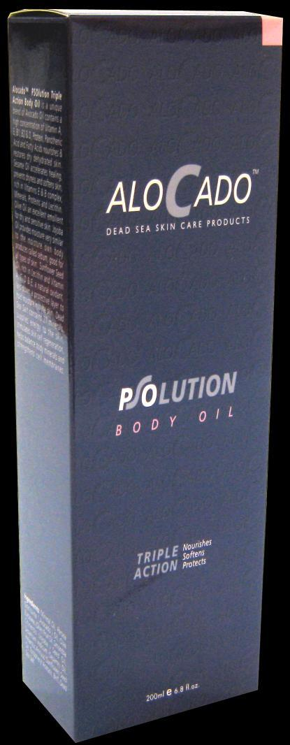 Alocado PSOlution Triple Action Body Oil For Normal to Very Dry Skin 1.Nourishes 2. Softens 3.