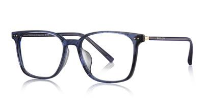 BJ3021 A vintage rectangular acetate frame. Classic & versatile style.