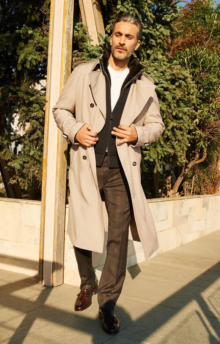 LOOK 14 THE TRENCHCOAT OUTERWEAR SOPA O741D 9800 UMCR O7K08 2000