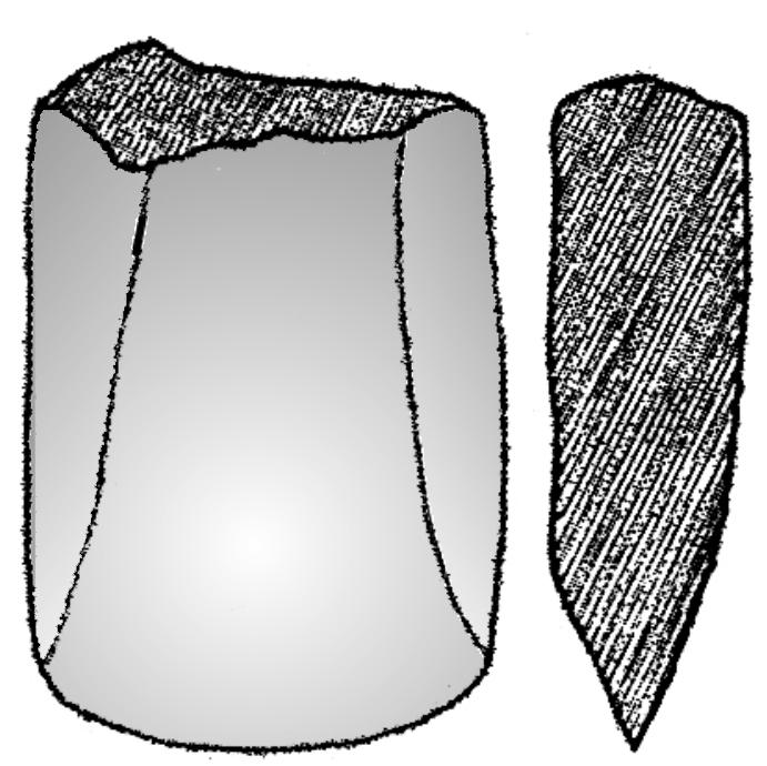 Paul, for example, has published only a fragment of a half-broken axe (fig. V.