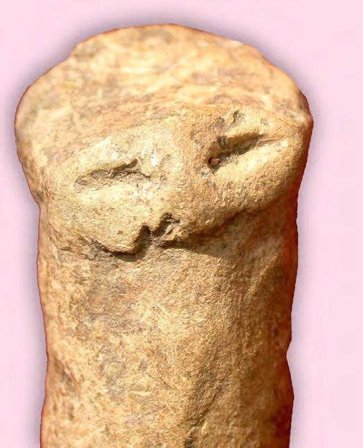 Vlassa 1963; Maxim Zoia 1991, p. 177, Kat. 93. Fig. VIIB.13. A minute phallus-type figurine. Fig. VIIB.14. The asymmetric mask of the mignon phallus-type figurine.