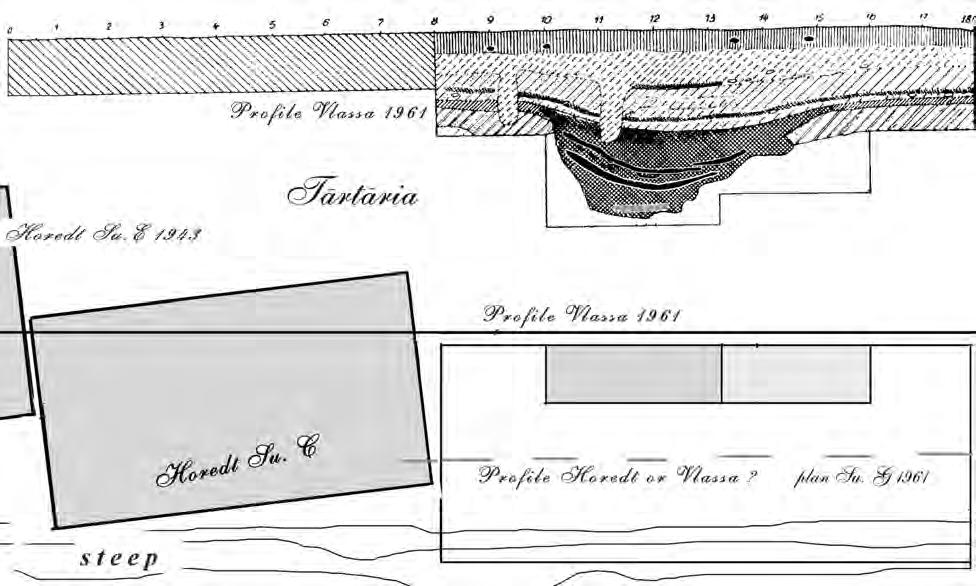 28 CHAPTER II Fig. II.15. c) Plan of the excavations made by K. Horedt and N. Vlassa. N. Vlassa officially placed his inventory in the custody of the museum 31 December, 1959.