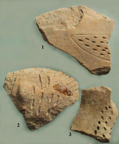 Such fragments have also appeared at Vršac At, Serbia in the western Banat, in eastern Banat at Sălbăgelu Vechi 126, Turdaș and Tăulaș 127.