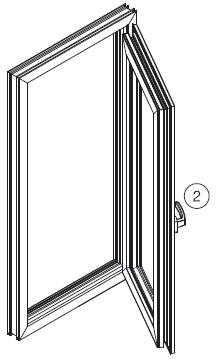 Tilt & Turn Window Double Opening Double opening transom window aeration system is the absolute solution for all the windows in the house when direct access of the wind is undesirable.