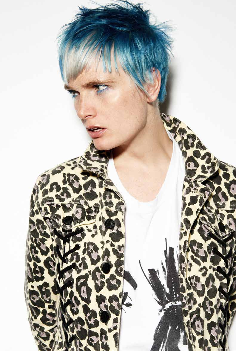 CREATIVE COLOUR* TIGI EDUCATION: BEHIND THE LENS Inspiration is key to being a