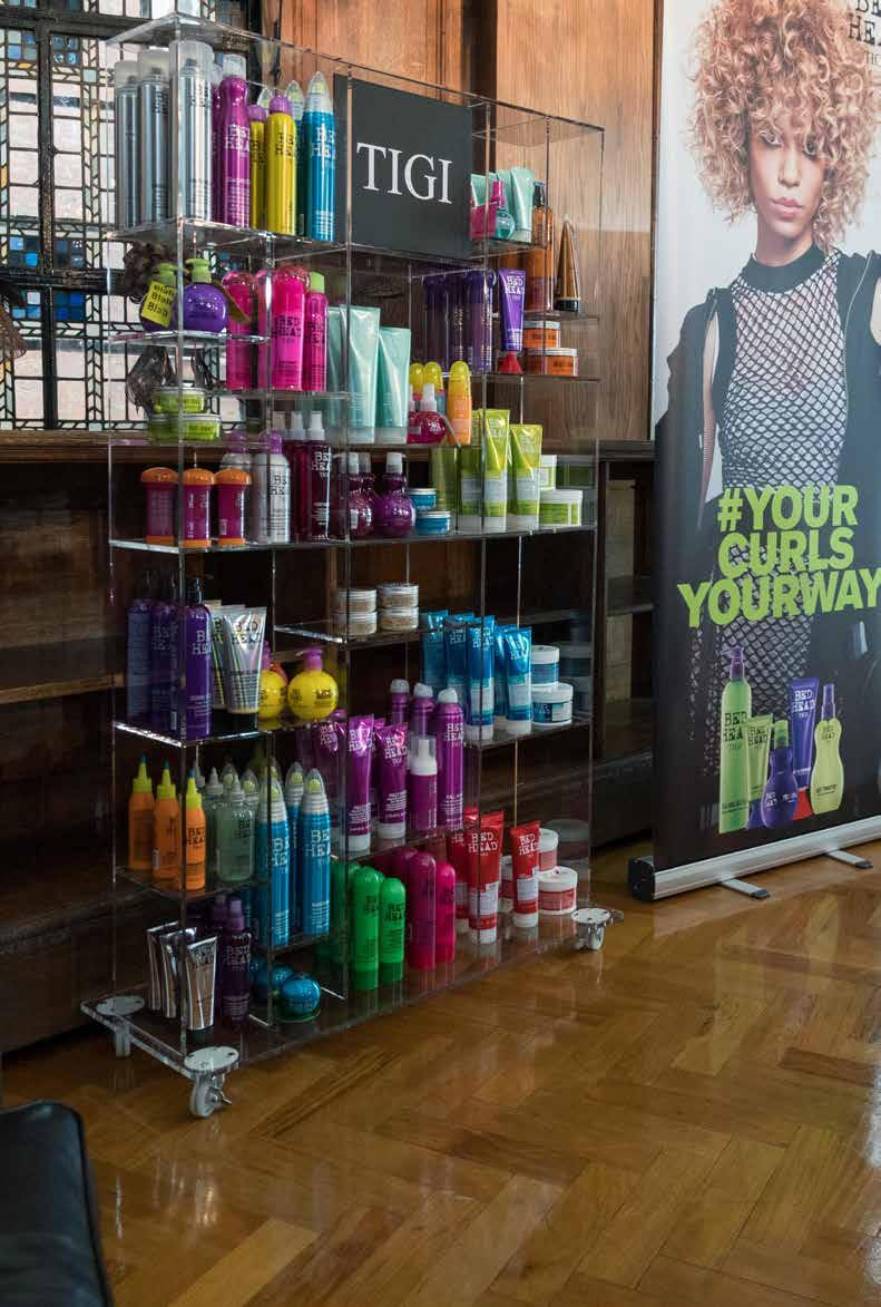 PRODUCT FOCUS RETAIL & MERCHANDISING Product Focus provides an introduction to the TIGI Bespoke Consultation concept, allowing you to identify customer needs as the first step to product