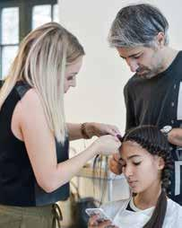 The New York team is headed by Thomas Osborn, VP of Education and Creative Director of TIGI Americas, who