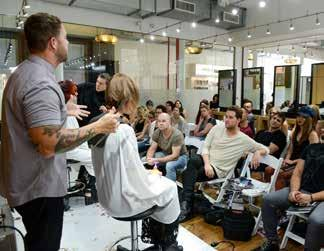The TIGI Collective are local hairdressers, working in TIGI salons, who wish to