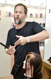 Through extensive and ongoing training, TIGI Collective members become part of an