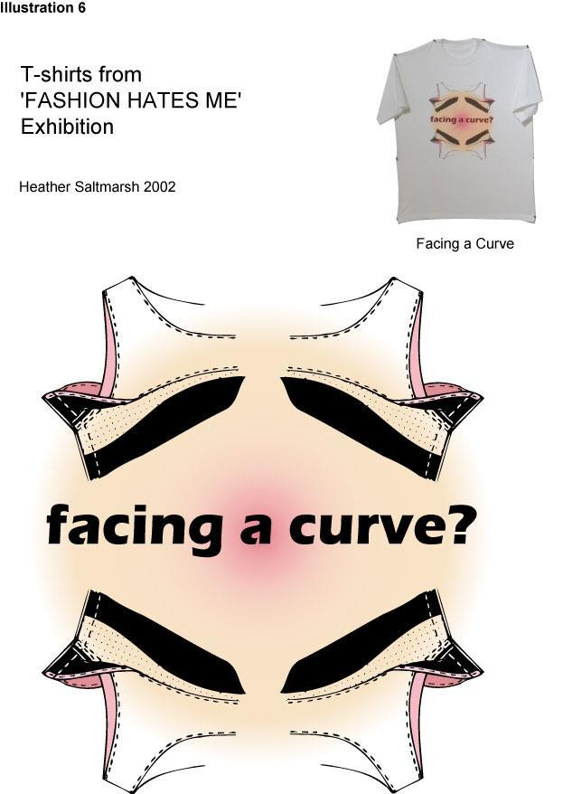 Illustration 6, Facing a Curve, H.