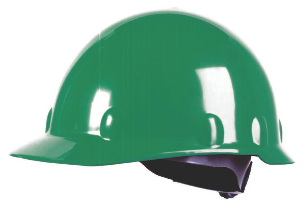 HARD HATS North The Everest A49 Full Brim Hard Hat Full brim HDPE shell with accessory slots Protects from the sun s UV rays, rain and falling debris 4-point or 6-point nylon suspension with 2-level