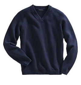 00 Soft-as-can-be 100% cotn for all-day comfort Knit eliminate excess bulk under the arms Full-zip front with easy grosgrain zipper pull classic navy 223008-BQ8 Little Kid S-L $35.