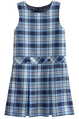 girls /women s Solid Jumper Plaid Jumper Solid A-line Skirt classic navy, khaki 068175-BQ7 Little Girl 4-6X $40.50 068176-BQ1 Girl 7, 8-16 Even $40.50 068177-BQ6 Girl Plus 7, 8-16 Even $40.