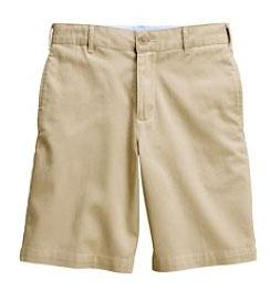 boys /men s Plain Front Stain/Wrinkle Resistant Chino Shorts Pleated Front Blend Chino Shorts Athletic Shorts classic navy, khaki Logo is not allowed 231161-BQ8 Little Boy 4-7 $24.