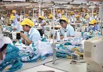 Meanwhile, more than 50 clothes factories have been relocated to Central Java where they started using more efficient technology and therefore their output is more competitively prices on the world