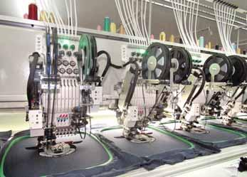Unity Overseas installs latest Tajima device at Ankal Knits Tajima s easy adjustment ESQ-C Sequin device of colour change type Established in 1993, the Unity Overseas Tirupur (UOT) has made its