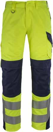 MASCOT Arbon Trousers Extra wide belt loop at the back, supports and keeps the belt securely in place. Thigh pocket with separate pocket for mobile phone with press stud fastening.