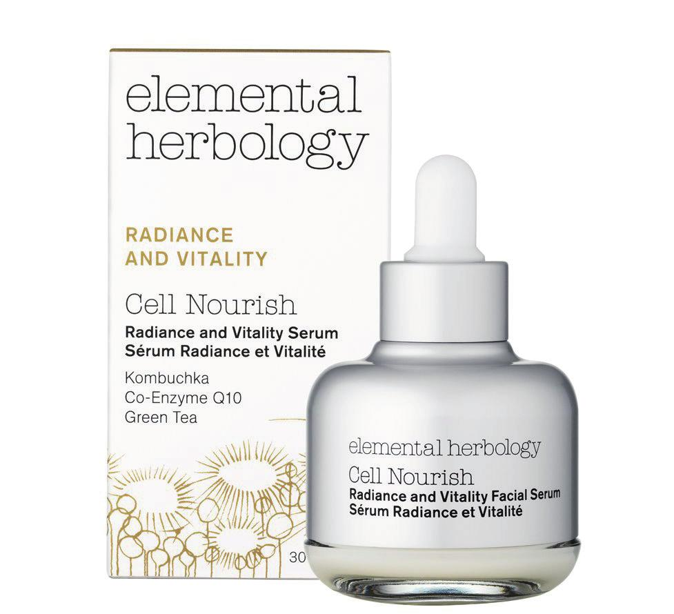 Our best seller... Cell Nourish Radiance and Vitality Serum As one of the first Elemental Herbology products to launch, Cell Nourish has been our number one best seller across the globe ever since.