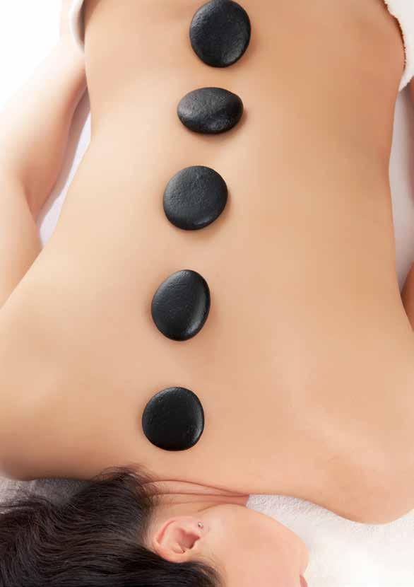 60 minutes $150 90 minutes $200 HOT STONE MASSAGE Warm stones reach deeper into tight muscles to relieve stress and tension.