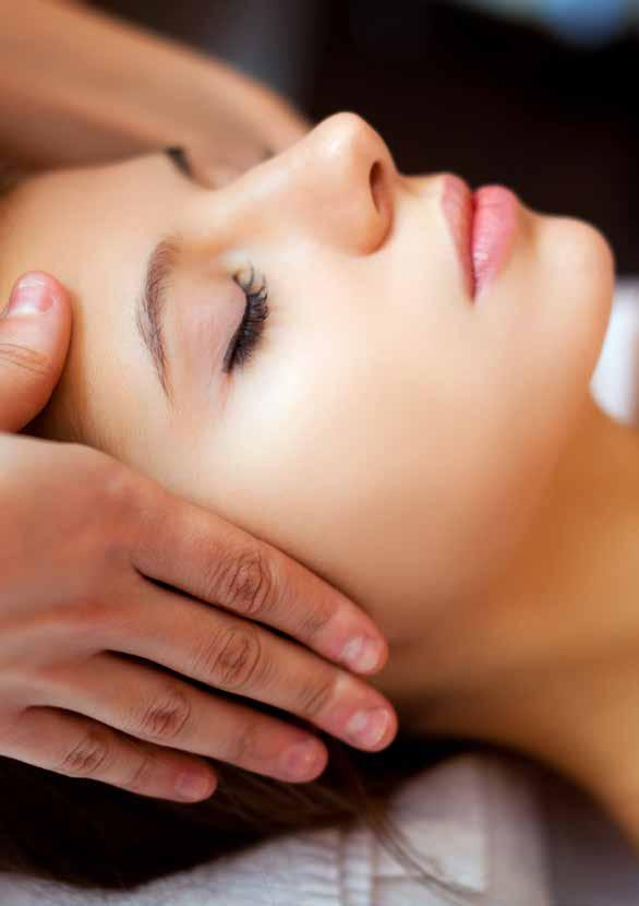 FACE SIGNATURE FACIAL Customized treatment to rejuvenate and nourish the skin back to a healthy and radiant glow. Includes a relaxing hand massage.