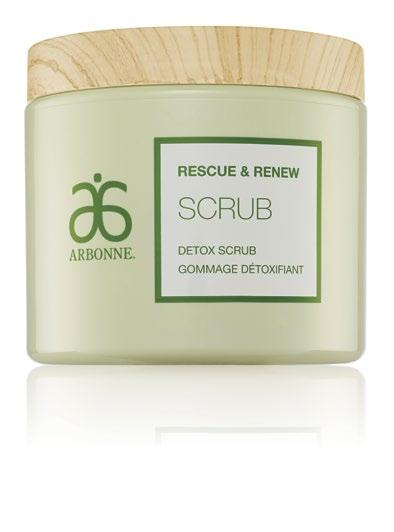 DETOX SCRUB Polishes away dry, dead surface cells and surface impurities caused by exposure to environmental aggressors Cleanses to combat the daily wear and tear of environmental exposure and