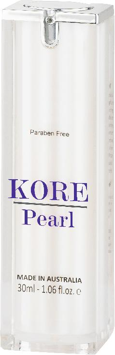 KORE Pearl Repairing Eye Serum 15ml KORE Pearl Intensive Serum 30ml Repairing Eye Serum contains a unique blend of highly concentrated ingredients to firm and lift the eye contour.