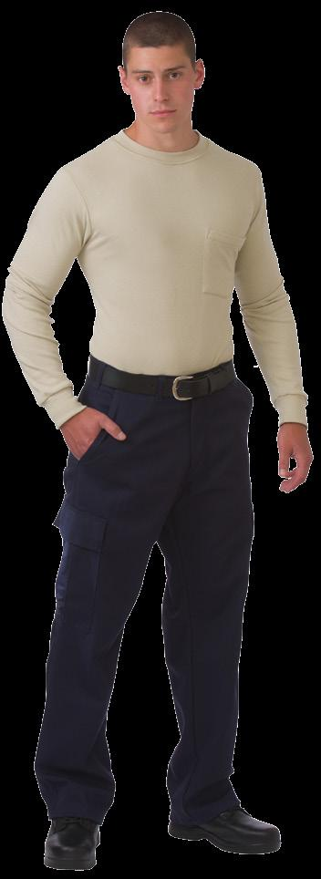 CARGO PANTS AVAILABLE IN 2 COLORS & 1 FABRIC MADE IN CANADA / 2 BIG PLEATED CARGO