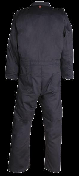 FLASHTRAP VENTED COVERALL AVAILABLE IN 3 COLORS & 1 FABRIC MADE IN CANADA / 2 SNAP FRONT