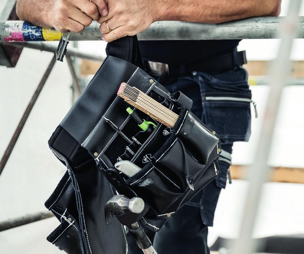 SNIKKI TOOLBELTS PROOFED AND ACKNOWLEDGED BY CRAFTSMEN With the right equipment, you have your