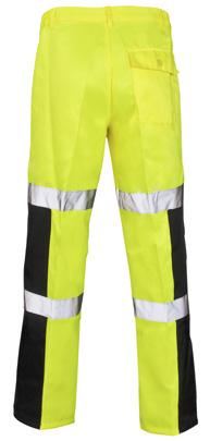TROUSERS Reflective Tape Back Pocket Ballistic Fabric BALLISTIC TROUSERS The addition of