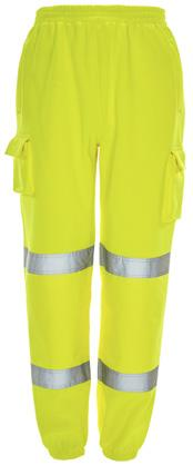 Conforms to EN ISO 20471 Class 3 (Yellow only) Polyester fabric Fully lined hood with draw cord Front kangaroo pouch pocket Ribbed hem and cuff marshalling, driving, construction, roadworks 61