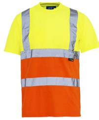 Conforms to EN ISO 20471 Class 2 (Yellow only) 100% polyester fabric Breathable 64 marshalling, driving, construction