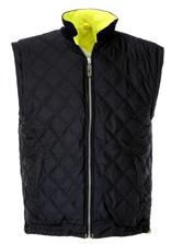 bodywarmer Detachable sleeves with bodywarmer Bodywarmer with quilted