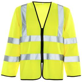 Longer sleeves give you greater hi-vis protection, so when a standard vest won t suffice, choose our Hi Vis Short Sleeved Vest instead.