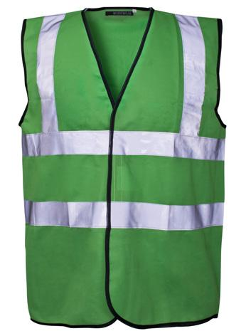 piece per bag - 50 bags per case Corporate use only, event marshalling 35211-7 S - 4XL Coloured Vest -