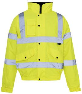 Conforms to EN ISO 20471 Class 3 Conforms to EN 343 Class 3:1 300D Oxford PU fabric Polyester lining Heavy duty 2-way zip fastening Heavy duty padding Storm collar with fleece lining Phone pocket