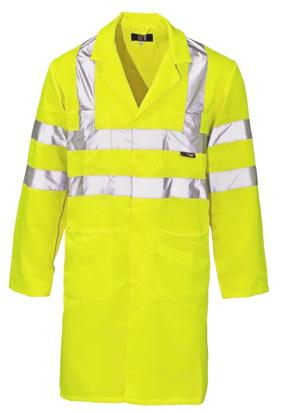 COATS & COVERALLS HI VIS COAT For excellent comfort and functionality, look no further than our Hi Vis Coat.