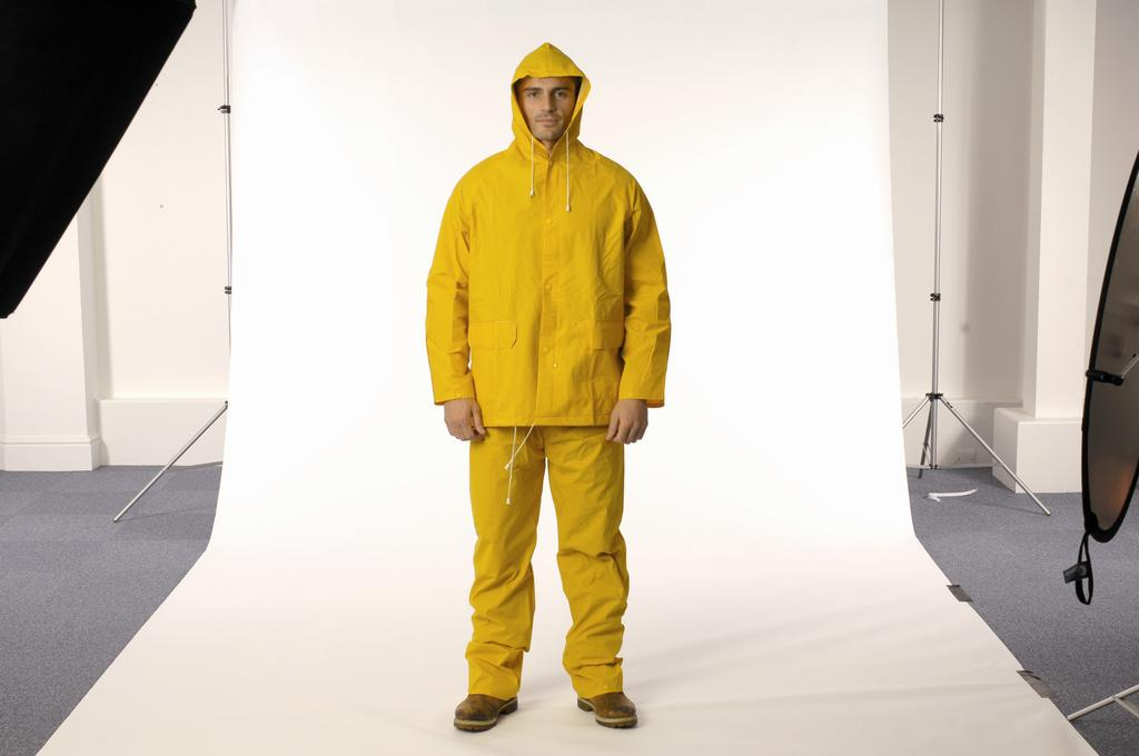 PVC Foul Weather Rain Suit Ref: FW/AN/R Sizes: M-XL 20