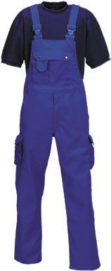 320 g/m² canvas with stretch. Zip-off work trousers with adjustable knee pad pockets and reinforced with Cordura.
