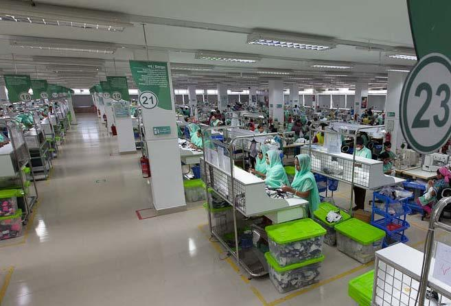 FACTORY AT DHAKA A PLATINUM LEED CERTIFIED WOVEN FACTORY AT